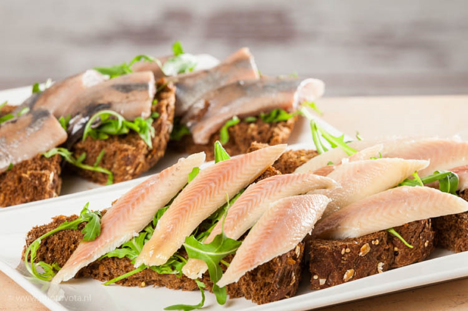Broodje makreel american